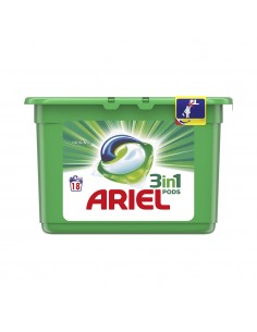 Ariel pods 3 en 1 regular 18 dosis