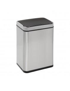 Cubo de basura con sensor apertura automatica 23l color inox