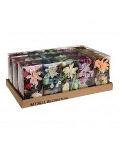 Caja 250 gr flores con aroma perfumes y modelos varios