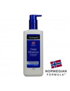 Leche corporal piel seca rápida absorción 250ml neutrogena