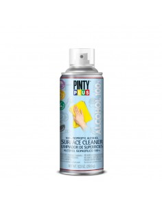 Higienizante para objetos y superficies 100% alcohol isopropilico en spray 400ml pinty plus