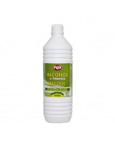 Alcohol al limon botella 1 l. pqs