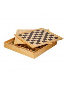 Juegos de mesa de madera 5 en 1