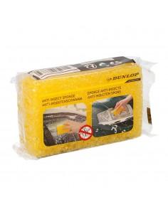Esponja anti insectos amarilla dunlop