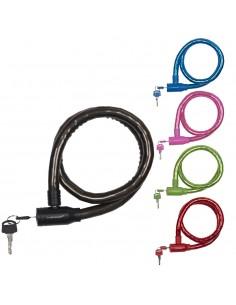 Candado de cable 18mm 65cm dunlop