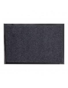 Felpudo negro antideslizante 40x60cm