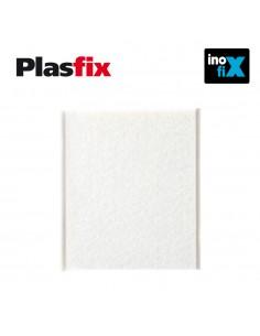 Pack 1 fieltro blanco sintetico adhesivo 100x85mm plasfix inofix