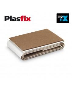Pack 1 fieltro marron sintetico adhesivo 1000x85mm plasfix inofix