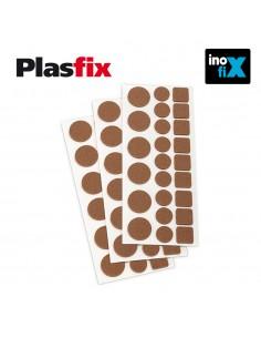 Pack 3 fieltros sinteticos adhesivos multifigura plasfix inofix