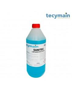 Limpiador a base alhocol sanitec 1 l