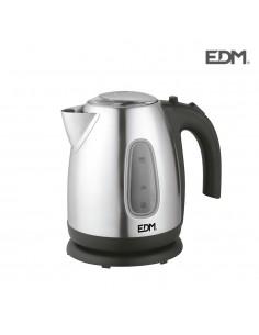 "Hervidor de liquidos electrico ""kettle"" - 2200w - 1,7litros - edm"