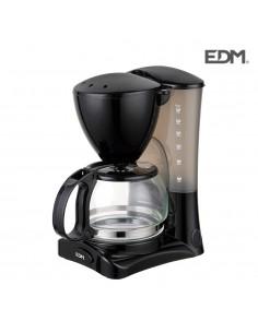 Cafetera de goteo - 6 tazas - 550w - edm