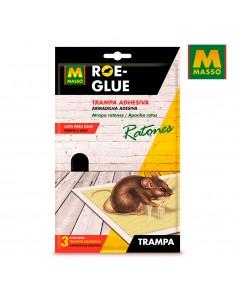 Roe-glue trampa adhesiva para ratones 3uni.