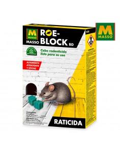 Roe-block 100 gr.raticida massó