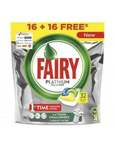 Fairy lavavajillas platinum limon 16+16