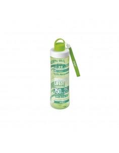 Botella tritan eco verde 0,75l snips