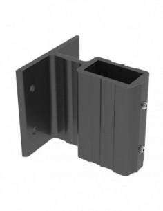 Soporte Aluminio 40X20 Negro