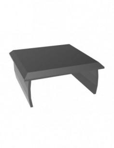 Tapa Aluminio 40X40 Negro
