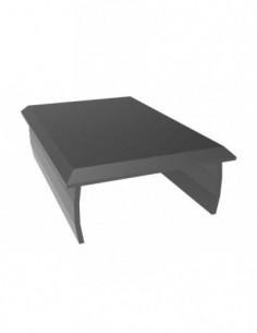 Tapa Aluminio 40X60 Negro