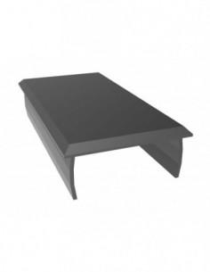 Tapa Aluminio 40X80 Negro