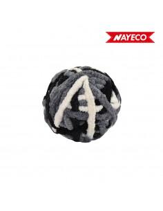 Pelota lana grises 6cm nayeco nayeco