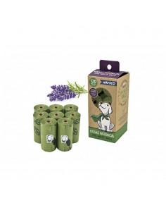 Pack 8 rollos de bolsas higienicas aroma lavanda nayeco