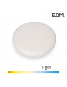 Downlight led superficie/empotrable 24w 1680lm 6500k luz fria enclavamiento regulable edm