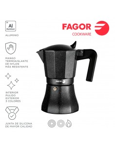 Cafetera tiramisu 6t aluminio 3004 fagor