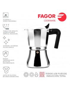 Cafetera cupy 6t aluminio 3004 fagor