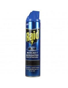 Raid insecticida spray 600ml moscas y mosquitos