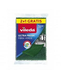Fibra verde ultra fresh 2+1 166240 vileda