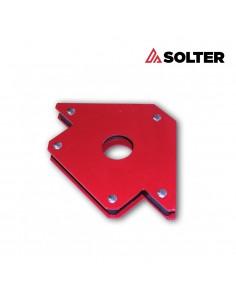 Escuadra magneto eco 45º-90º 10.2x15.5x1.7cm solter