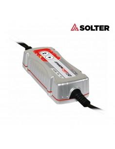 Cargador inteligente de baterias invercar 150 6/12v 1a (coches y motos) solter
