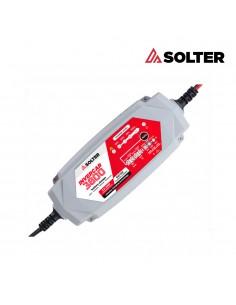 Cargador inteligente de baterias invercar 3800 6/12v 3.5a (coches y motos) solter