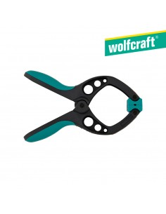 """Pinza con resorte 1"""" fz 40 mm""""  wolfcraft"""
