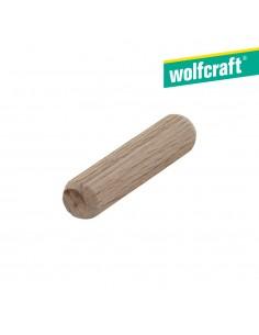 Pack 30 espigas largas  de madera de haya ø10x40mm wolfcraft