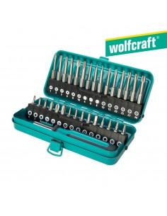Caja de puntas de seguridad combinadas  31 piezas wolfcraft