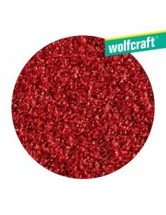 Pack 5 discos de lijar autoadhesivos grano 40 ø115  wolfcraft