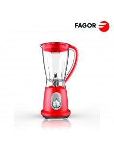 Batidora de vaso 600w color rojo. capacidad 1,5 l .fagor