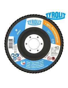 Disco de láminas 27cla 125x22,23 za40q-b tyrolit