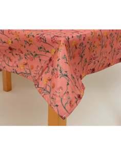 Mantel poliester estampado floral 140x180cm