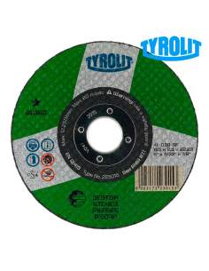 Disco de corte bombeado 115x2,5x22,23 c 30s bf 223025 tyrolit