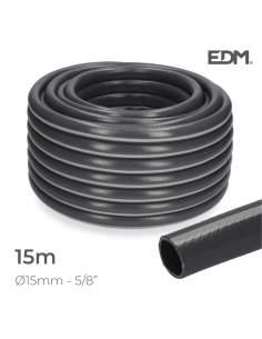 "Manguera jardin ecolight pcv ø inter.15mm, ø exter. 20mm (5/8"") rollo 15m edm"
