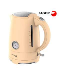 Hervidor de agua 2200w 1,7l vintage fge451 fagor