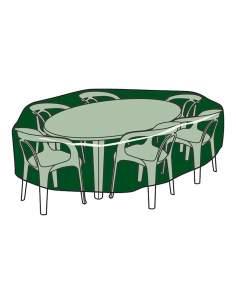 Funda protección cubre mesa y sillas ø120x90cm