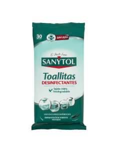 Sanytol toallitas desinfectantes multiusos 30u