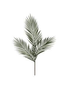 Hojas de palmera areca  color verde 99cm