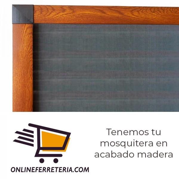 Mosquitera enrollable a medida samer systems - Madera a medida ...