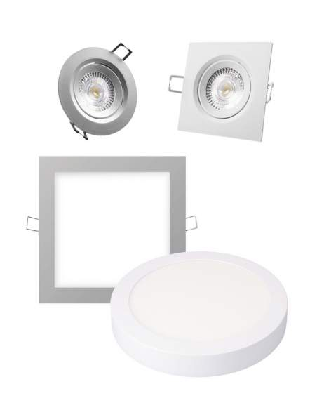 Downlights-pantallas led