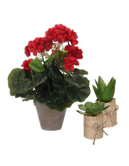 Plantas artificiales interior